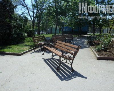 Как развлекаются подростки в детском парке Севастополя