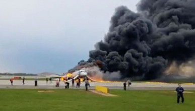 В сгоревшем самолете «Аэрофлота» в московском аэропорту Шереметьево погибло десять человек! (ВИДЕО)