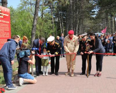 Открыта аллея «Бессмертного полка Севастополя» (ФОТО)