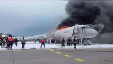 Как погибали пассажиры в Шереметьево и работали бортпроводницы после эвакуации (ВИДЕО 18+)