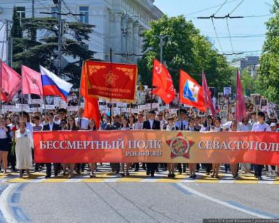 В шествии «Бессмертного полка» в Севастополе примут участие более 55 тысяч человек
