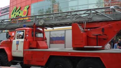 Пожарники потушили возгорание в севастопольском ТЦ «Яблоко»