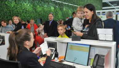Миллионным пассажиром аэропорта Симферополь стал четырехлетний мальчик