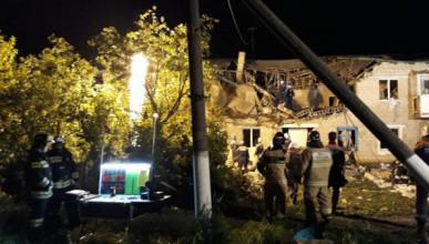 Видео: обрушение многоквартирного жилого дома в Ростовской области после взрыва