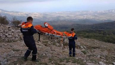 В горной местности Севастополя погиб человек