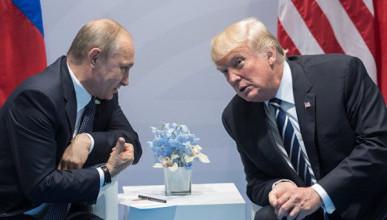 Трамп намерен срочно встретиться с Путиным