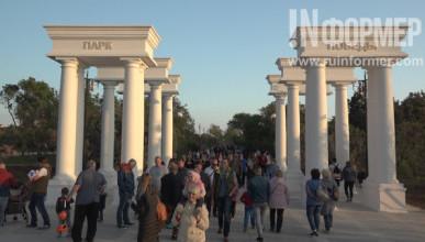В Севастополе Парк Победы предстал во всей своей красе