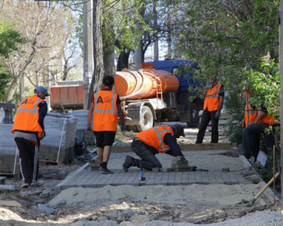 Ремонт дорог на контроле губернатора Севастополя