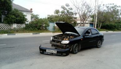 В Севастополе водитель влетел в иномарку и скрылся с места ДТП (ФОТО)