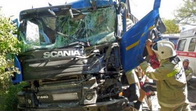 ДТП в Крыму: на трассе Бахчисарай - Симферополь столкнулись четыре автомобиля
