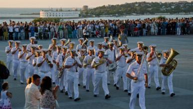Фестиваль военных оркестров пройдет в Севастополе