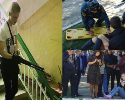 Керченскому стрелку помогли попасть в здание колледжа через запасной выход
