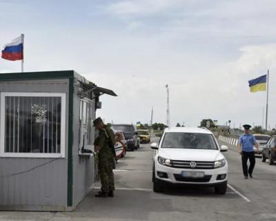В Крыму ужесточат санитарный кордон на границе с Украиной