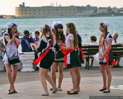Как прошел последний звонок в школах Севастополя
