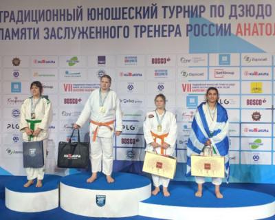 Севастопольская дзюдоистка боролась в четырех поединках и во всех одержала победу