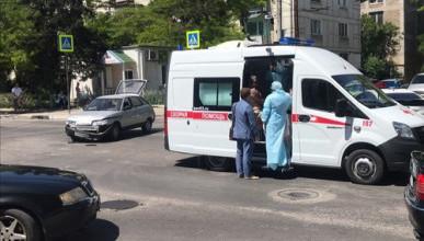 В Севастополе машина «Скорой помощи» попала в ДТП
