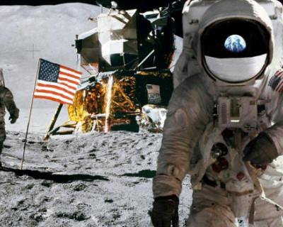Видео, которое пока мало кому известно: как американцы фальсифицировали полеты на Луну в 1969 году