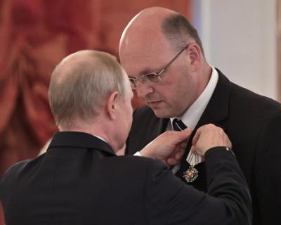 Путин отметил орденом семью Лисейцевых из Севастополя (ФОТО)