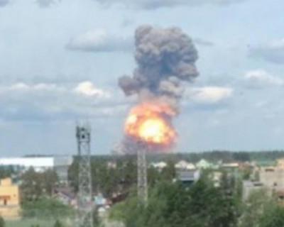 На оборонном предприятия Дзержинска произошел мощный взрыв (ВИДЕО, ФОТО)