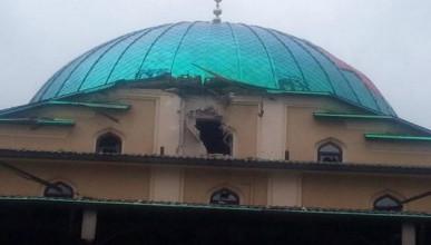 Украинские военные обстреляли мечеть в Донецке (ВИДЕО, ФОТО)