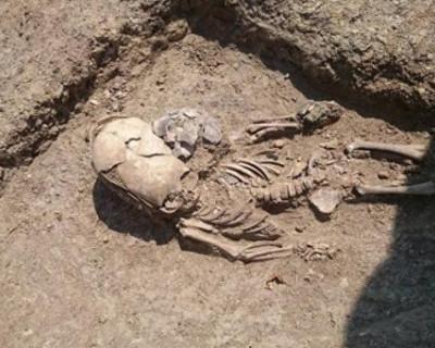 В Крыму нашли скелет младенца с вытянутым черепом (ФОТО)