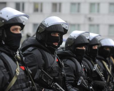 Видео задержания в Крыму членов террористической организации