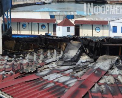 В Севастополе загорелся дельфинарий