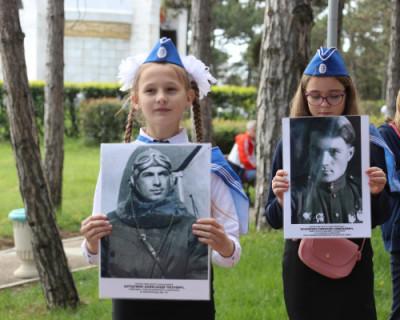 Открыта аллея «Бессмертного полка Севастополя»