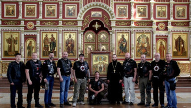 Из Владивостока в Севастополь: «Ночные волки» начали юбилейный мотопробег