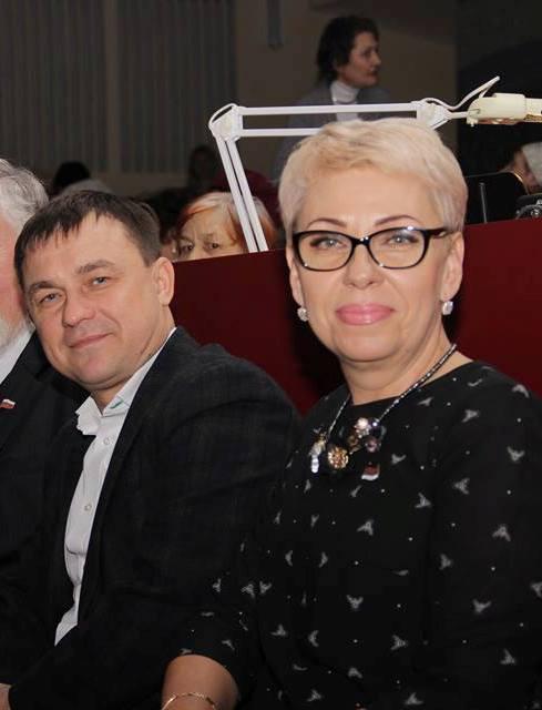 Елена Яковлева и Алексей Ярусов