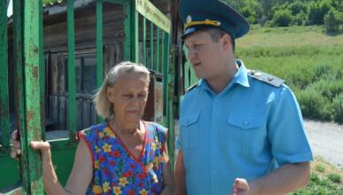 Спасатели Севастополя ходят по сёлам и разъясняют (ФОТО)