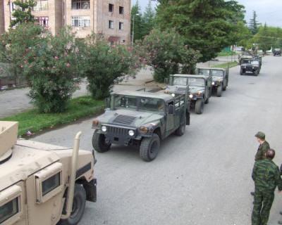 Как российские военные отжали у американцев «Хаммеры» (ВИДЕО)