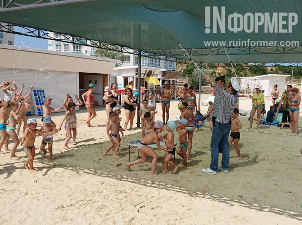 самый лучший пляж в Севастополе