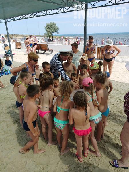 Отдых на пляже в Севастополе