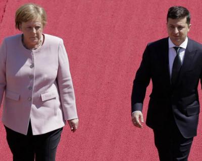 У Меркель аллергия на украинского президента