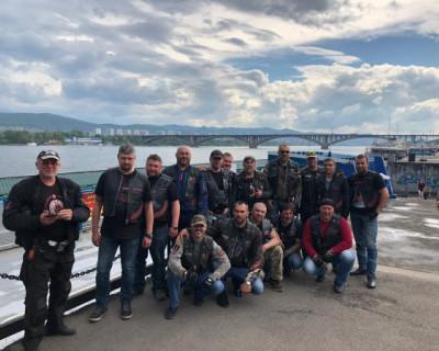 Мотопробег Гольфстрим RUN 2019 из Владивостока в Севастополь движется по Сибири