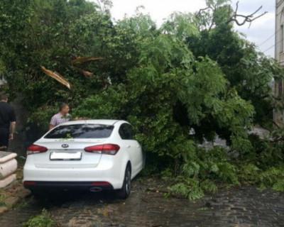 На Севастополь обрушился ураган