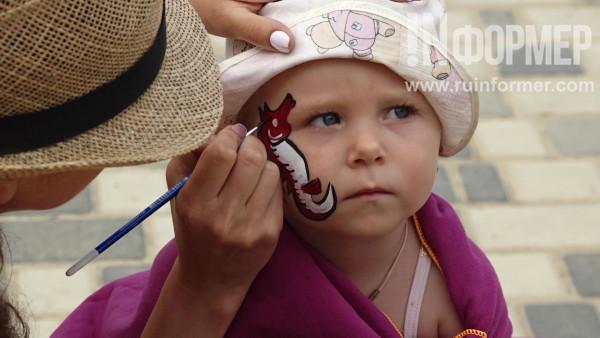 Праздник для детей на солдатском пляже