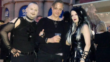 Более 30 000 вампиров и таинственных личностей собрались в Германии (ФОТО)