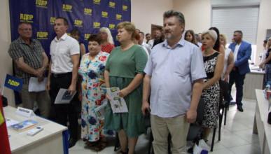 Севастопольские жириновцы идут на выборы во главе с Жириновским