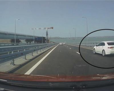 «Рекорды» скорости на крымских дорогах
