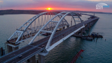 На Украине предложили разделить Крымский мост пополам с Россией