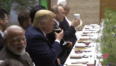 Что пил Путин на саммите G20?