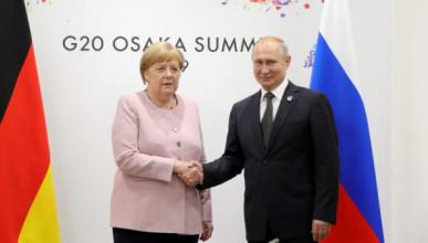 Как выглядела Меркель на встрече с Путиным