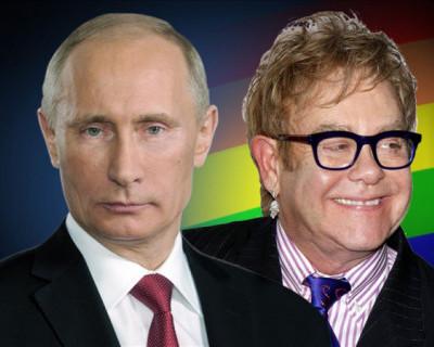 Путин: «Элтона Джона уважаю, однако он «передёргивает»»