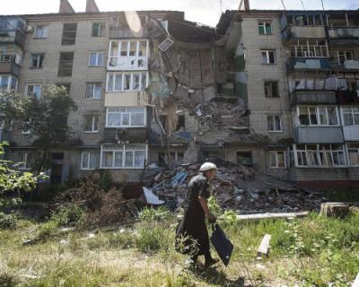 Российские журналисты попали под миномётный обстрел в Донецке