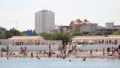 Каждые выходные «ИнтерСтрой» организовывает детские представления на пляже (ВИДЕО)