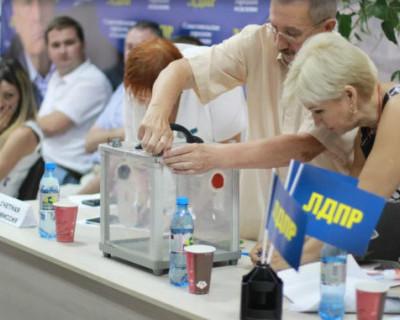 Члены севастопольского отделения ЛДПР недовольны партийными списками на выборы в ЗАКС