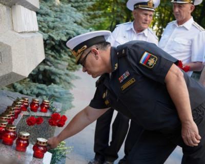 Севастополь скорбит по погибшим подводникам Военно-морского флота России