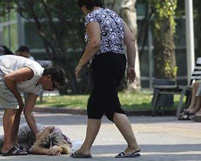 В Парке Победы обнаружили школьника в бессознательном состоянии